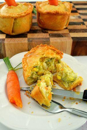 Recette Tourte aux légumes de saison (vegan)