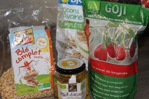 Recette Barres de céréales Bio énergisantes