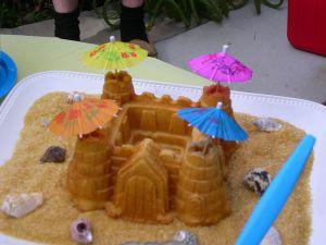 Recette Gâteau de gaufres en forme de château fort