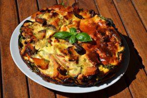 Recette Frittata aux legumes grilles