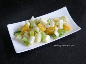 Recette Salade fenouil orange