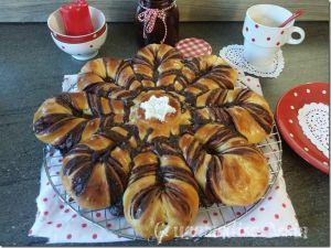 Recette Brioche Etoilée à l'Orange et Pâte à Tartiner maison