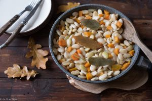 Recette Haricots tarbais mijotés aux carottes et sauge (made in Gers #12)