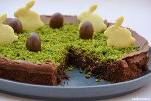 Recette Fondant au chocolat pour lapin de Pâques
