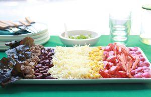 Recette Salade noire, jaune, rouge !   Une recette aux couleurs de la Belgique