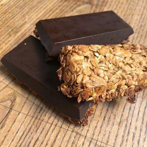Recette Des barres de céréales au chocolat