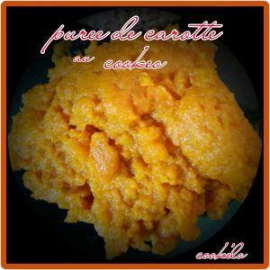 Recette Purée de carottes au cookeo ww
