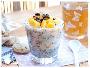 Recette Chia pudding à la mangue