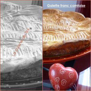 Recette Galette franc comtoise ou galette Bisontine