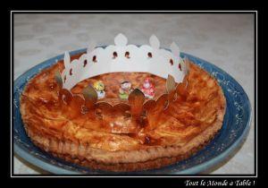 Recette Galette des rois franc-comtoise - galette bisontine - spécialité franc-comtoise