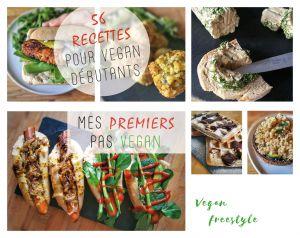 Recette Découvrez l'ebook «Mes premiers pas vegan» – 56 recettes pour vegan débutant