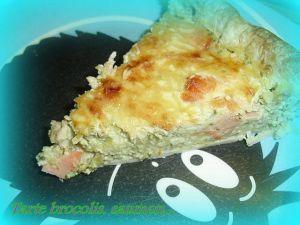 Recette Quiche brocolis saumon