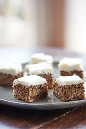 Recette Apple cake aux noix et creamcheese