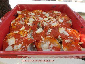 Recette Fenouil à la parmigiana