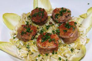 Recette Rouelles d'andouillettes en salade d'endive