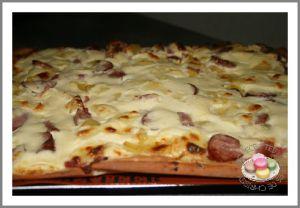 Recette Pizza franc comtoise