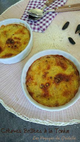 Recette Crème Brûlée à la Tonka (sans lactose)