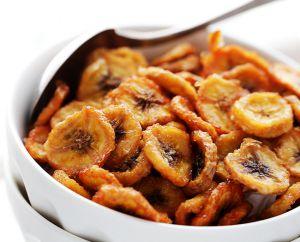 Recette Chips de bananes