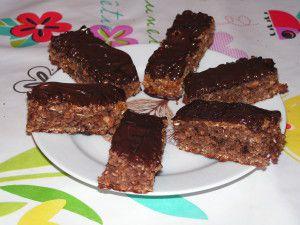 Recette Barre de céréales au chocolat