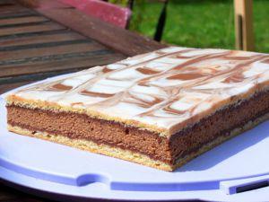 Recette Napolitain chocolat caramel