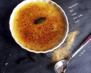 Recette Crémé brûlée à la fève tonka