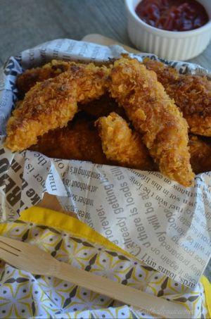 Recette Nuggets de poulet façon KFC