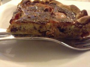 Recette Quiche saumon champignons