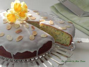 Recette Gâteau aux amandes, courgette et citron, sans gluten et sans lactose