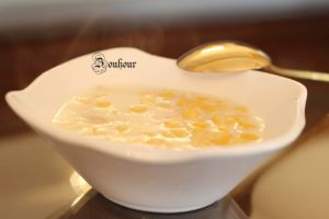 Recette Soupe au mais (Corn soup)