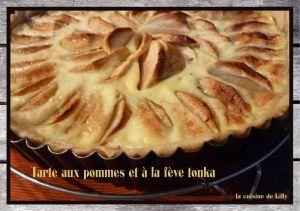 Recette Tarte aux pommes à la fève tonka
