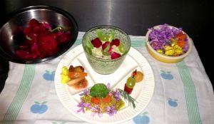 Recette Assiette Mezzanine Fleurs&Papilles du 25 juin