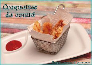 Recette Croquettes de comté