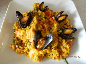 Recette Paella au Cookéo