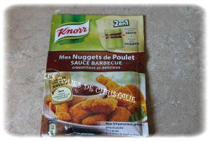 """Recette """" Mes Nuggets de poulet sauce barbecue """" de Knorr"""