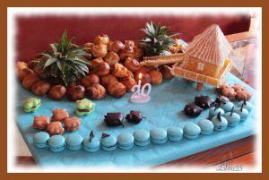 Recette Repas thème Tahiti - polynésie
