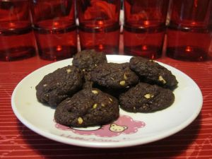 Recette Cookies tout chocolat