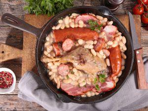 Recette Cassoulet mouton et saucisses de Toulouse