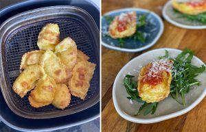 Recette Ravioli frits à l' Airfryer | Recette de pâtes