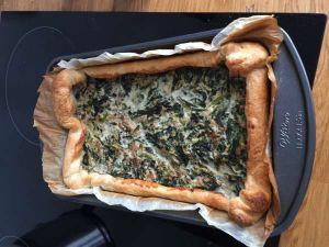 Recette Tarte au thon - recette de tarte aux épinards