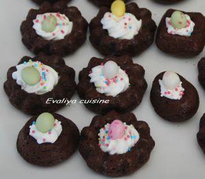 Recette Nids chocolat-feve tonka