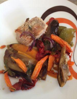 Recette Côte de veau aux légumes