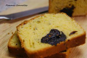 Recette Cake aux graines de Chia et pruneaux  {sans gluten}