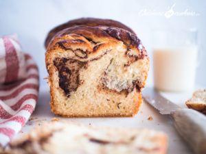 Recette Babka au chocolat et aux noisettes