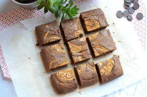 Recette Brownie au beurre de cacahouète