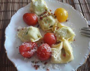 Recette Mini brochettes de tortellinis