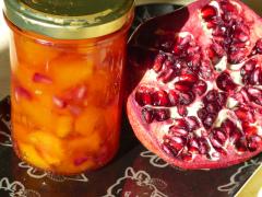 Recette Confiture de melon, grenade et citron vert
