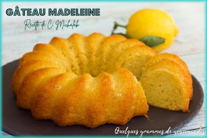Recette Gâteau Madeleine de Christophe Michalak