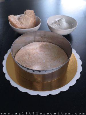 Recette Sucrée : entremets chocolat praliné