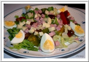 Recette Salade chef