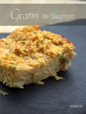 Recette Gratin de Saumon aux Pommes de Terre